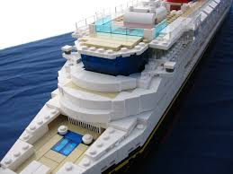 Lego Ship Sinking 2 by Lego Disney Cruise Ship Upper Deck Close Up Rmc Pinterest