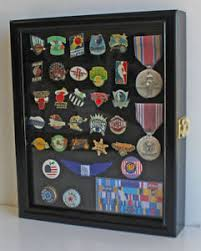 Image Is Loading Small Wall Shadow Box Cabinet For Pin And