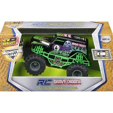 New Bright R/C Monster Jam Truck - Grave Digger - New Bright - Toys