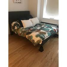 Raymour And Flanigan Furniture Dressers by Raymour U0026 Flanigan Gray Queen Bed W Headboard Aptdeco