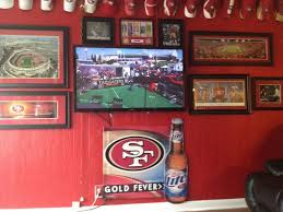Added A Tv To My 49ers Room