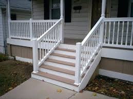 Railings For Deck Stairs Porch Fascinating Steps Handrail Design