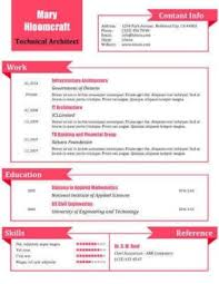 What A Doll Resume Template