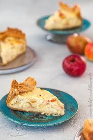 apfel quark kuchen frisch aus dem ofen lecker macht laune