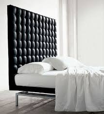 Black Leather Headboard With Diamonds by Black Tufted Headboard Diy Tufted Headboard Skyline Furniture