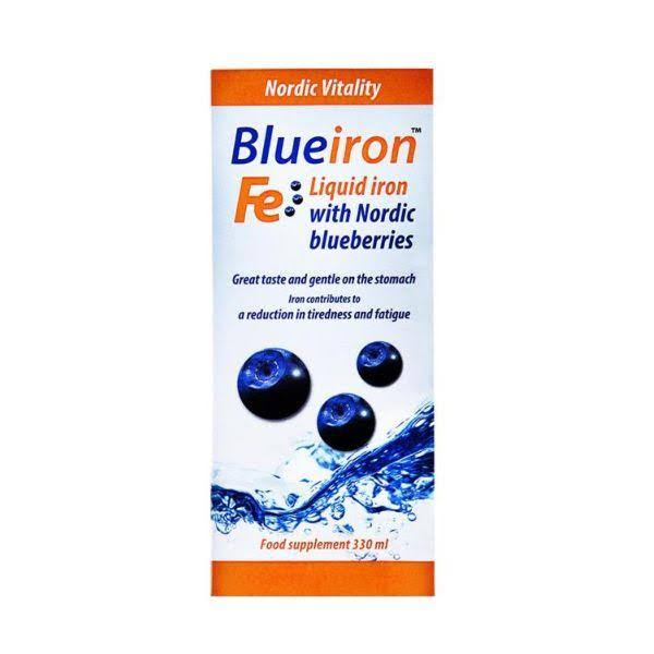 Blue Iron Liquid Iron Food Supplement - 330ml