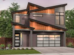 100 Architecture Design Houses Plan 85216MS Edgy Modern House Plan With Shed Roof
