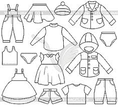clip art black and white dress clipart 10