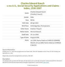 Charles Kauch page 1