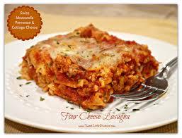 Tried & True Tuesday Four Cheese Lasagna Sweet Little Bluebird