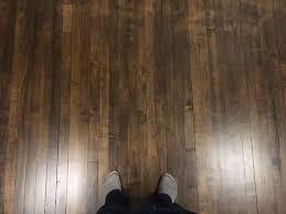 How I Stained My Maple Floors Dark SPOILER GEL STAIN
