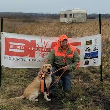 Chesapeake Bay Retriever Shed Hunting by Uga Staff Upland Gundog Association
