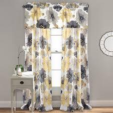 Amazon Prime Kitchen Curtains by Amazon Com Lush Decor Leah Room Darkening Window Curtain Panel