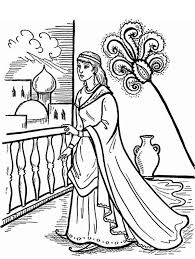 Downloads Online Coloring Page Queen Esther Pages 29 With Additional For Adults