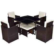 Amazon.com: Patio 9Pcs Rectangle Rattan Table Furniture Set ... 315 Round Alinum Table Set4 Black Rattan Chairs 8 Seater Ding Set L Shape Sofa Brown Beige Garden Amazoncom Chloe Rossetti 17 Piece Outdoor Made Coffee Table Set Stock Photo Image Of Contemporary Hot Item Modern Fniture Stainless Steel And Lordbee Large 5 Pcs Patio Wicker Belleze 3 Two One Glass Details About Chair Cushion Home Deck Pool 3pc Durable For Pcs New Y7n0