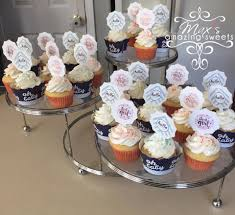 Baby Shower Cupcakes Vanilla Cupcake Mousse Buttercream Frosting With Blue Or