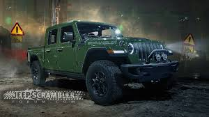 2020 Jeep Scrambler Render Looks Ready For The Real World New 2019 Ram Allnew 1500 Laramie Crew Cab In Waco 19t50010 Allen 2018 Jeep Truck Price Pictures Wrangler Unlimited Jl New Ram Trucks Blog Post List Hall Chrysler Dodge Jt Pickup Truck Spotted Car Magazine Top Car Reviews 20 Best Electric Performance Trucks Ewald Automotive Group For The Is Pickup Making A Comeback Drivgline Review Youtube There Are Scrambler Updates You Need To Know About Carbuzz