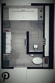 ein grundriss aus dem badezimmer bad boden plan plan