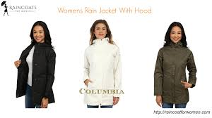 womens rain jacket with hood youtube