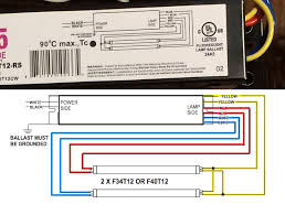 process wiring fluorescent light ballasts on the cheap