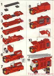 100 Lego Fire Truck Instructions LEGO 6382 Station Set Parts Inventory And LEGO