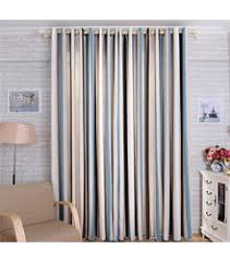 Yellow And White Striped Curtains by Modern Simple Cotton Blue And Yellow Striped Curtains No Include