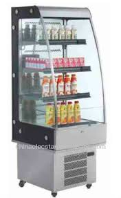 Open Front Cold Display For Supermarket Displaysupermarket Refrigerated Equipmentupright Beverage Drink