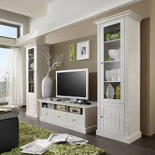 maison belfort tv lowboard lyngby weiß massivholz kiefer landhaus