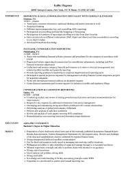 Consolidation & Reporting Resume Samples | Velvet Jobs College Student Grad Resume Examples And Writing Tips Formats Making By Real People Pharmacy How To Write A Great Data Science Dataquest 20 Template Guide With For Estate Job 13 Steps Rsum Rumes Mit Career Advising Professional Development Article Assistant Samples Templates Visualcv Preparation Sample Network Cable Installer