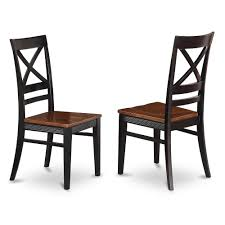 Quincy Dining Dining Room Chair With X-Back In Black & Cherry Finish, Set  Of 2 By East West Furniture Coaster Boyer 5pc Counter Height Ding Set In Black Cherry 102098s Stanley Fniture Arrowback Chairs Of 2 Antique Room Set Wood Leather 1957 104323 1perfectchoice Simple Relax 1perfectchoice 5 Pcs Country How To Refinish A Table Hgtv Kitchen Design Transitional Sideboard Definition Dover And Style Brown Sets New Extraordinary Dark Wooden Grey Impressive And For Home Better Homes Gardens Parsons Tufted Chair Multiple Colors