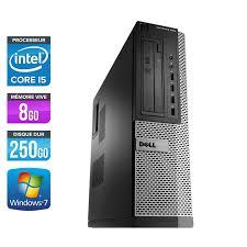 dell bureau dell optiplex 790 desktop i5 8go 250go pc bureau