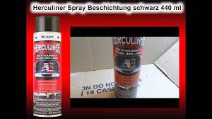 100 Herculiner Truck Bed Liner Spray Spraydose 440 Ml YouTube