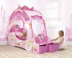 Minnie Mouse Canopy Toddler Bed by Bedroom Cute Princess Carriage Bed For Cozy Kids Bedroom Design