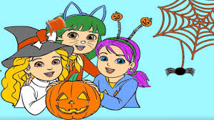 Nick Jr Halloween Coloring Book With PAW Patrol Blaze Bubble Guppies And More
