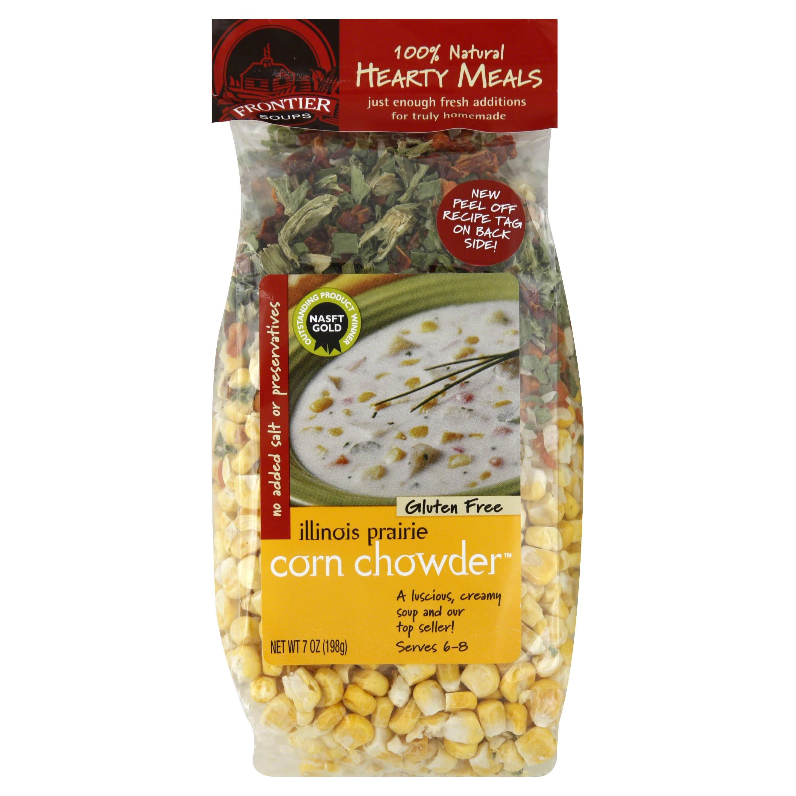 Frontier Soups Hearty Meals Illinois Prairie Corn Chowder Mix - 7oz