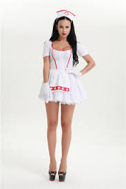 Womens Ladies Pin Up Retro Nurse Costume Red White Fancy Dress Ambulance Doctor Party