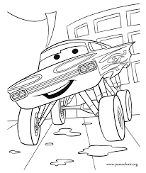 Have Fun Coloring The Chevrolet Impala Ramone One Of Characters Cars 2