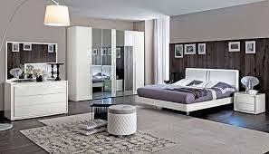 schlafzimmer dama weiß hochglanz