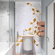 cs anm01 golden fish wohnzimmer wand hintergrund wandmosaik