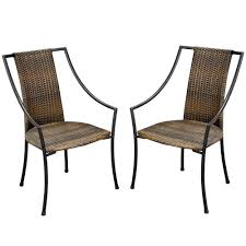 Amazon.com : Home Styles Laguna All-Weather Wicker Dining Chairs ... Annabelle Outdoor Garden Fniture All Weather Wicker Rattan 10 Home Decators Collection Naples Brown Allweather Amazoncom Luckyermore 4pack Patio Chairs Belham Living Bella Ding Chair Set Of 2 Contemporary 150 Cm Teak Table 6 Shop Havenside Hampton Allweather Grey Round Terrain Tangkula 5 Pcs Resistant Coral Coast Brisbane Open Inspired Bistro Saint Tropez Stackable Whitecraft S6501 By Woodard Sommerwind Wickercom