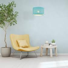 beleuchtung schlafzimmer rund relaxdays stoffle