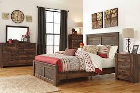 South Shore Step One Dresser Grey Oak by Insassy Fujian Queen Platform Bed Nightstands Oak