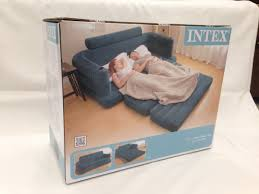 Intex Inflatable Sofa Bed by Intex Inflatable Pull Out Sofa Bed Free Electric Air Pump