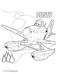 Dusty Is The Main Character In Upcoming Movie Planes 2 Print And Color This