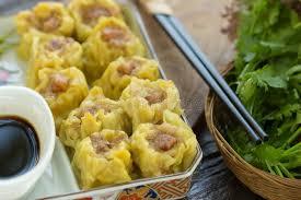 cuisine asiatique vapeur dim sum nourriture chinoise chinois a cuit la boulette à la vapeur