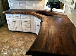 Kitchen Countertop Decorating Ideas Pinterest by Image Result For Kitchen Counter Made Out Of Tree Logs Log