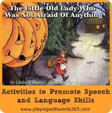 Preschool Halloween Books Activities by The Little Old Lady Who Was Not Afraid Of Anything Activities