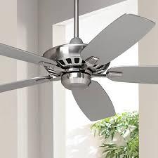 Brushed Nickel Ceiling Fan by 52