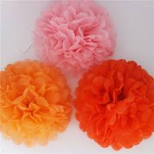 Diy Multi Colour 6 8 10 Mixed Sizes 15pcs Paper Flowers Ball Wedding