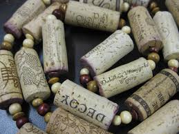 Christmas Tree Garland Wooden Beads by The Wooden Bee Blog Archive Wine Cork Garland